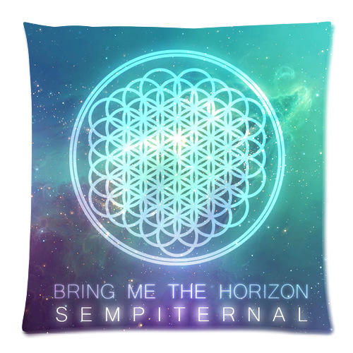 Bring me the horizon Custom Zippered наволочка 35x35 (одна сторона)-Pa-35-8